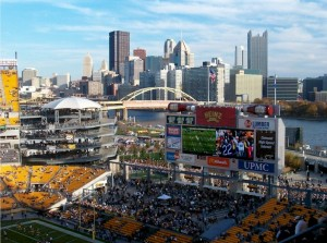 View from Heinz Field